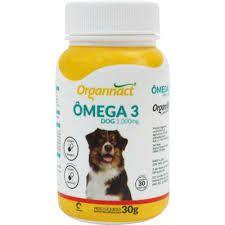 Omega 3 Dog Organnact 1000mg Pote C/30