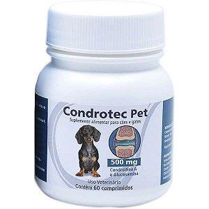 Condrotec Pet 500mg C/60 Comprimidos