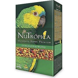 Nutrópica Papagaio C/Frutas 600g