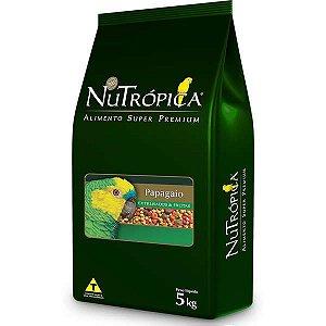 Nutrópica Papagaio C/Frutas 5kg