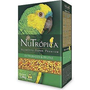 Nutrópica Papagaio C/Frutas 1,2kg