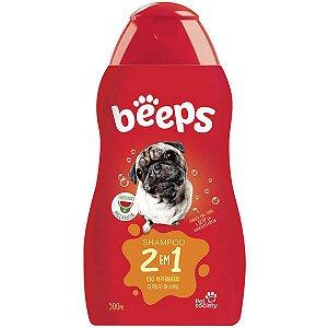 Beeps Shampoo Pelos Curtos 2 Em 1 500ml