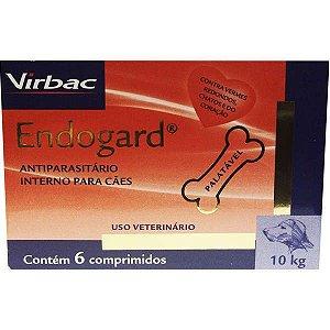 Endogard Até 10kg Caixa Com 6 Comprimidos