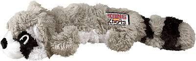Kong Scrunch Knots Raccoon Nks32