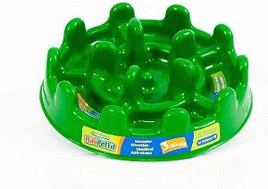 Comedouro Lento Mini Pet Fit Verde