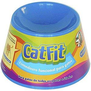 Comedouro Cat Eat - Azul