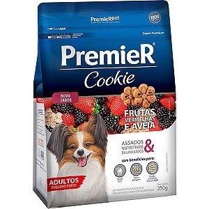 Premier Cookie Cães Adultos - Pequenas - Frutas Vermelhas 250 G