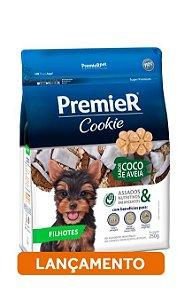 Premier Cookie Cães Filhotes - Coco e Aveia 250 G