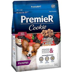 Premier Cookie Cães Filhotes - Frutas Vermelhas 250 G