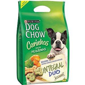 Dog Chow Biscoitos Carinhos Duo 1kg