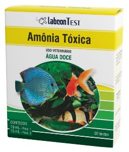 Labcon Test Amonia Toxica Agua Doce C/50