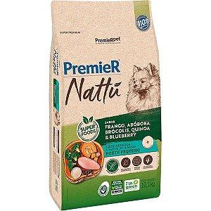 Premier Nattu Adulto - Raças Pequenas - Abóbora 10,1KG