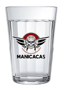 COPO AMERICANO VIDRO #MANICACA