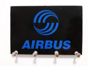 PORTA CHAVE #AIRBUS