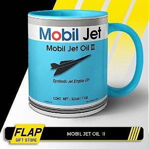 CANECA MOBIL JET OIL