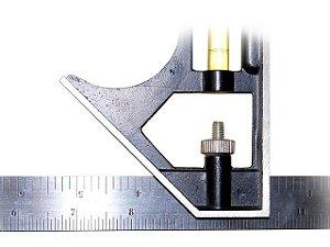 Esquadro 90º 30 cm Regulável com Nível Lee Tools