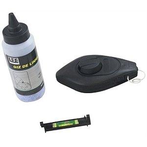 Giz de Linha com Fio Marcador e Nível Lee Tools-609937