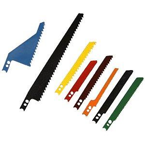 Jogo de Lâminas para Serra Tico Tico com 8 Peças Lee Tools-684729