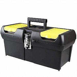 """Caixa de Ferramentas 16"""" Profissional 6 Compartimentos - Stanley"""