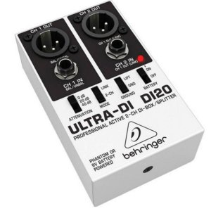 Direct Box Behringer ULTRA-DI DI20 2 Canais