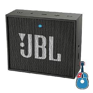 Caixa Ativa JBL GO BLK Preta Bluetooth