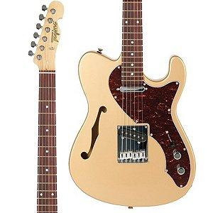 Guitarra Semi-Acústica Tagima T-484 / Telecaster / Dourada / 2 Single Coil / Série Brasil Handmade