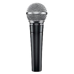 Microfone Com Fio Shure SM58-LC