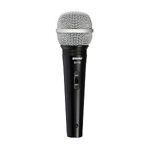 Microfone Shure SV100 Lyric Dinamico c/ Cabo, Nota Fiscal  e Garantia de 02 Anos