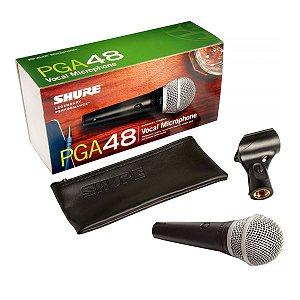 Microfone Com Fio Shure PGA48-LC