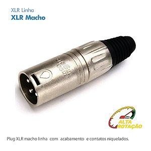 Xlr Santo Angelo Macho Linha Capa Metal