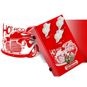 Pedal Fuhrmann Hot Rod HR01 / Overdrive / Analógico