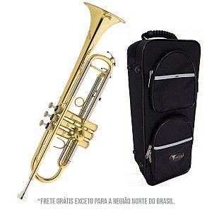 Trompete Eagle TR504 Sib Laqueado + Case