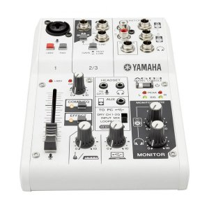 Mesa de Som Interface Yamaha AG03
