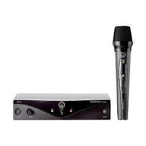 Microfone s/ Fio AKG PW Vocal Set B1 45 Bastão