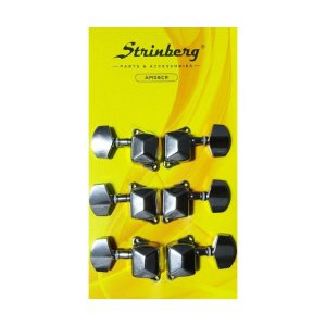 Tarraxa para Violão Aço Strinberg AM06CR 3+3
