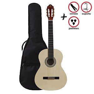 Kit Violão Acústico Harmonics GNA-111 / Natural / Nylon