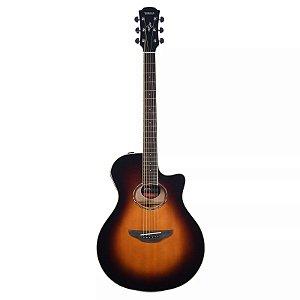 Violão Elétrico Yamaha APX600 / Old Violin Burst / Flat