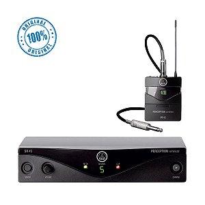 Transmissor s/ Fio AKG PW ISET INSTRUMENTAL SET A 45 p/ instrumentos