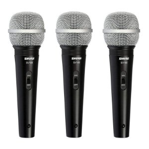 Microfone Shure SV100 Lyric Dinamico - sv 100 (3 unidades)