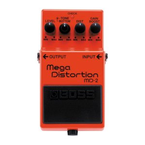 Pedal Boss MD-2 Mega Distortion para Guitarra