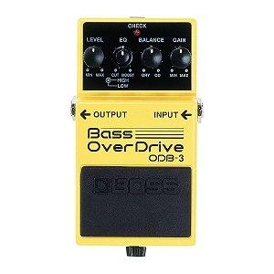Pedal Boss ODB-3 Bass Overdrive para Contrabaixo