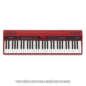 Teclado Roland GO:KEYS GO-61K / Vermelho / 5 Oitavas