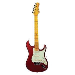 Guitarra Tagima Woodstock TG-530 / Stratocaster/ Vermelho Metálico / 3 Single Coil / Série Woodstock