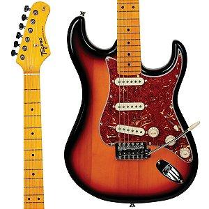 Guitarra Tagima Woodstock TG-530 / Stratocaster/ Sunburst / 3 Single Coil / Série Woodstock