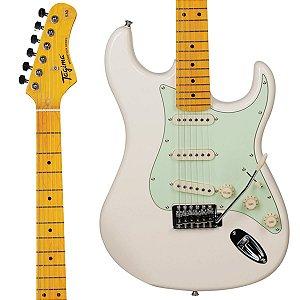 Guitarra Tagima Woodstock TG-530 WV Branca