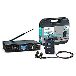 Sistema de Retorno Sem Fio Vokal VMT-50 + E50 Pro