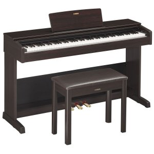 Piano Digital Yamaha Arius YDP103-R Marrom