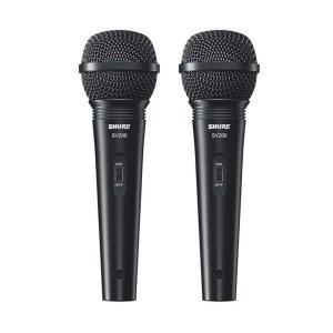Microfone Shure SV200 - 2 Unidades