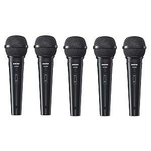 Microfone Shure SV200 - 5 Unidades