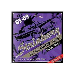 Encordoamento Strinberg Guitarra GS-09 009